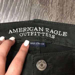 American Eagle Outfitters Jeans - Hunter Green Jegging Pants
